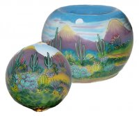Desert Scene Ornament & Votive
