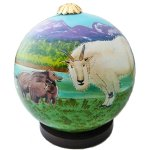 Mountain Animals Ornament
