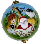 Santa Safari Ornaments
