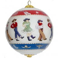 Linedancers Ornament