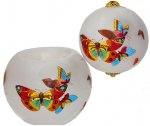 Butterflies Ornament & Votive