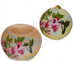 Hummingbirds Ornament & Votive