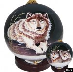 Wolves Ornaments