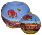 New Mexico Balloons Ornament & Votive