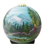 Mountain Scene Ornaments