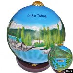 Lake Tahoe Ornaments