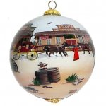 Western Town Ornament