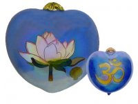 Om Lotus Ornaments
