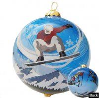 Winter Sports Ornaments