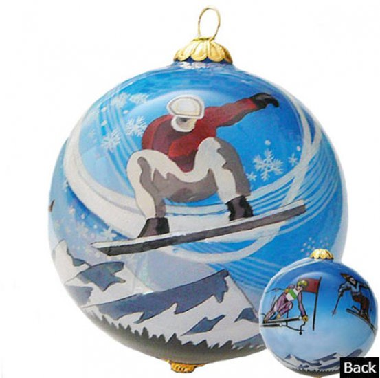 Winter Sports Ornaments - Click Image to Close
