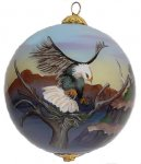 Eagle in the Canyons Ornaments