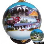 Moose & Elk Ornaments